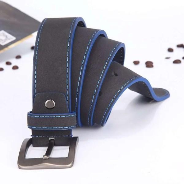 2019 Fashion Leather Belt for Men Italian Design 3