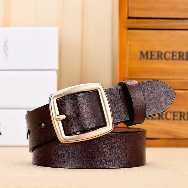 Fashion Women Belt Genuine Leather for Jeans 10