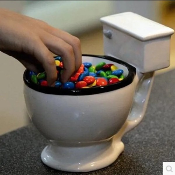 Novelty Toilet Ceramic Mug 300 ml 4