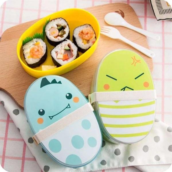 Kids Cartoon Healthy Lunch Box Microwaveable 2
