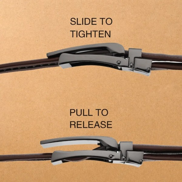 Genuine Leather Men Strap Luxury Belt 3