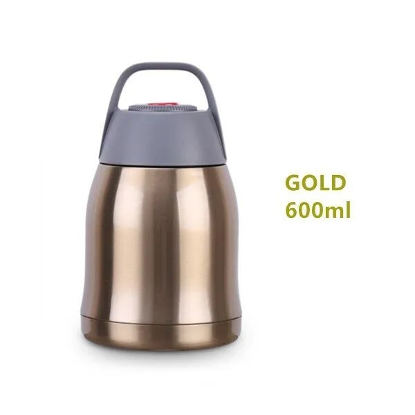 Large Capacity 600ML/800ML/1000ML Thermos Lunch Boxes Portable Stainless Steel 9