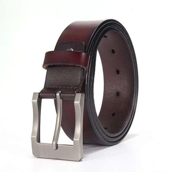 Genuine Cowskin Leather Belts for Men 9