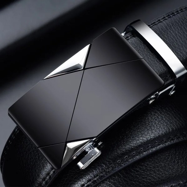 Men Top Quality Genuine Leather Belt 2