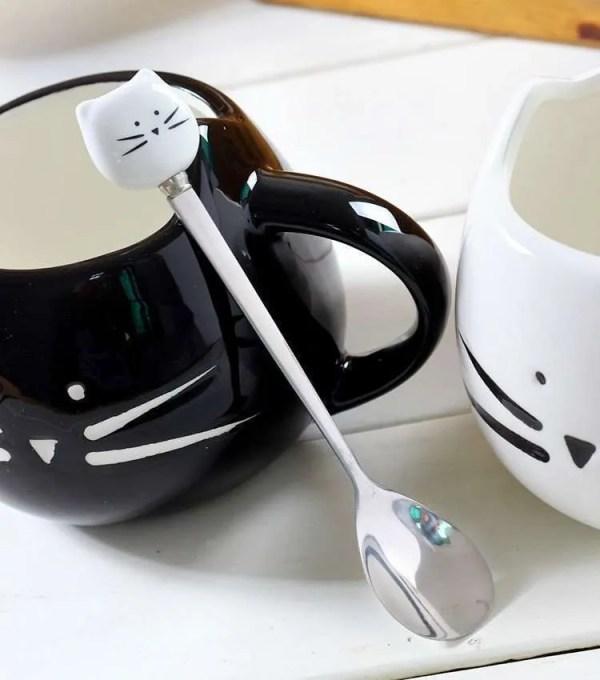 Ceramic Cute Cat Mug in 400 ml 2