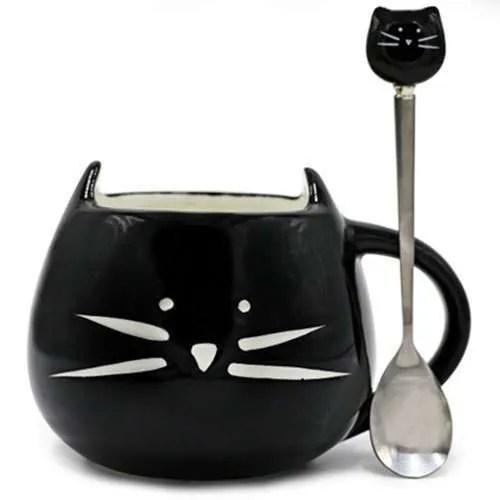 Ceramic Cute Cat Mug in 400 ml 6