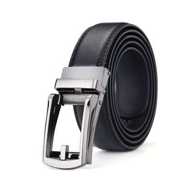 Genuine Leather Men Strap Luxury Belt 10