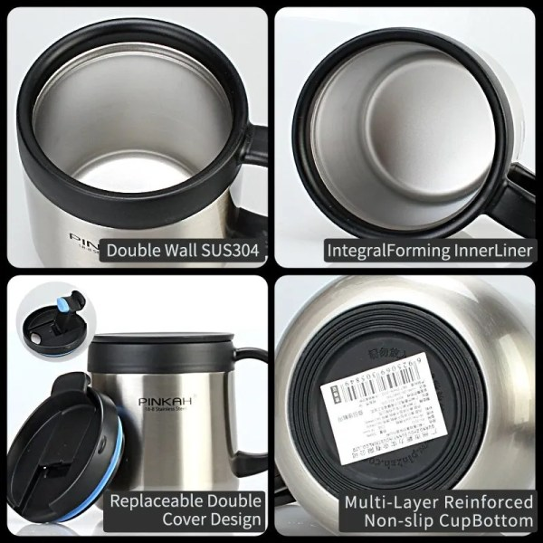 304 Stainless Steel Thermos Mug 4