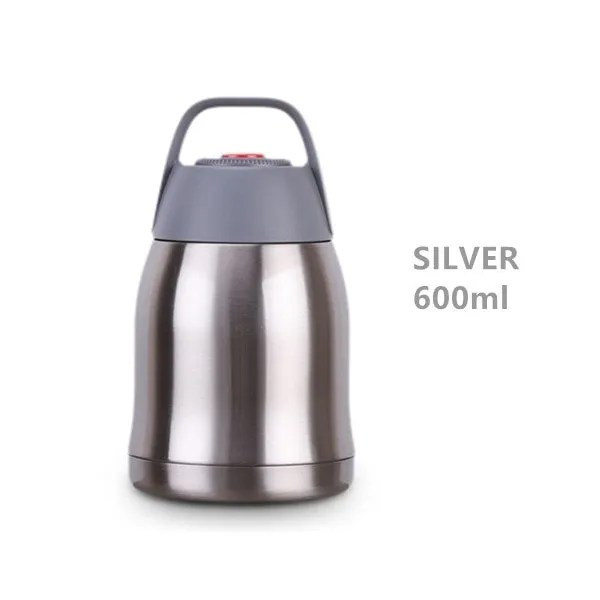 Large Capacity 600ML/800ML/1000ML Thermos Lunch Boxes Portable Stainless Steel 11