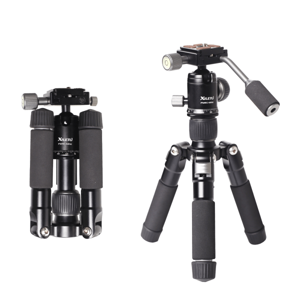 Mini Aluminum Stable Tabletop Desktop Tripod 6