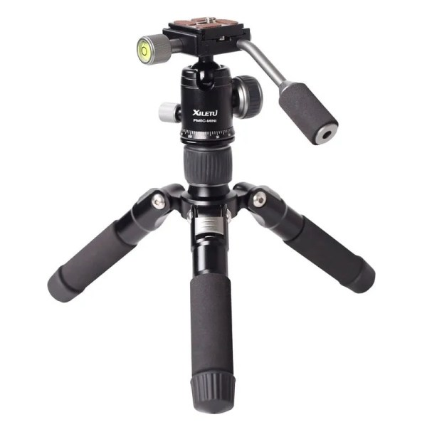 Mini Aluminum Stable Tabletop Desktop Tripod 1