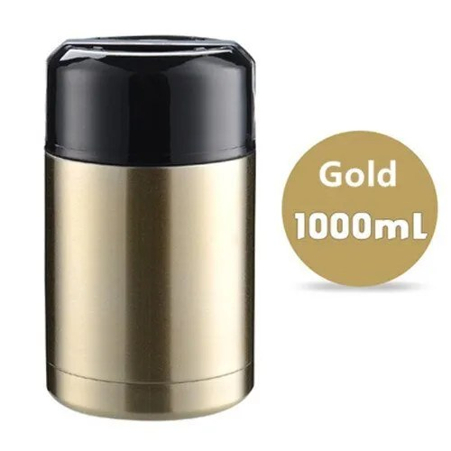 Double Stainless Steel Thermos Food Containers Lunch Box 17