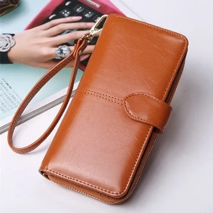 Wallet Best 2019 Women Coin Purse Long Leather Wallet 8
