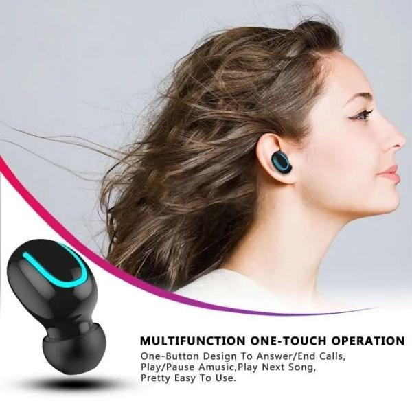 Bluetooth TWS Wireless Bluetooth 5.0 Earphones 4