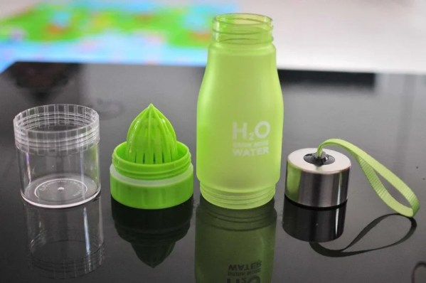 H2O 2019 700 ml Plastic Fruit Infusion Water Bottle 5