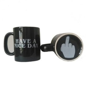 Have a Nice Day Ceramic Novelty Coffee Mug