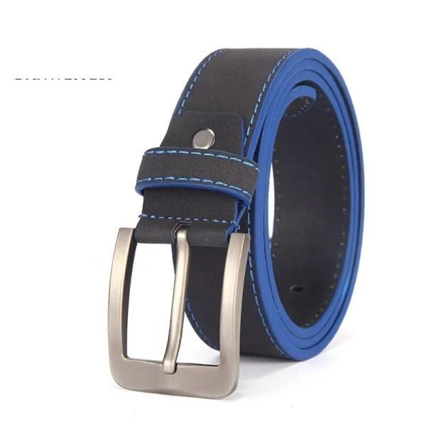 2019 Fashion Leather Belt for Men Italian Design 12