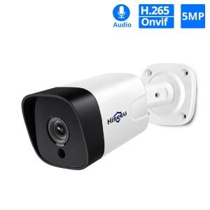 Hiseeu 5MP 2MP Surveillance POE IP Outdoor Security Camera