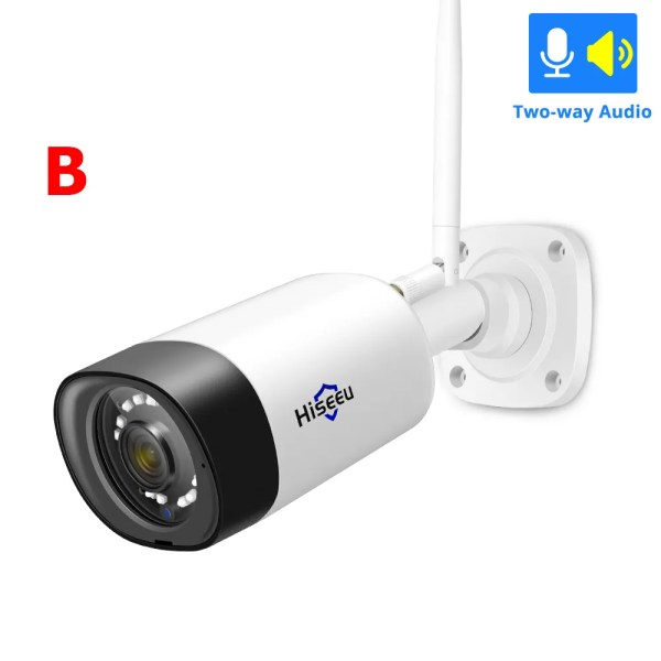 1080P Waterproof Wireless Wifi IP Camera with 3.6 mm Lens 6