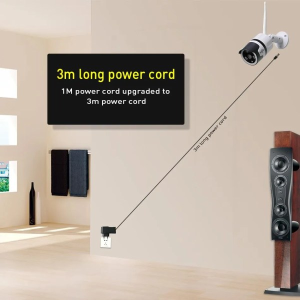 Hiseeu 2MP Wifi Waterproof Outdoor IP Security Camera 6