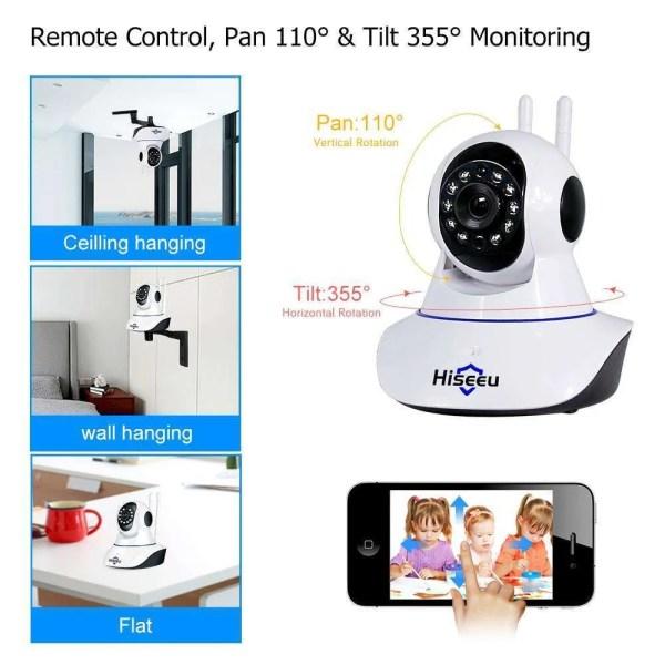 Hiseeu Ultra HD 3MP 1080P Security Camera 4