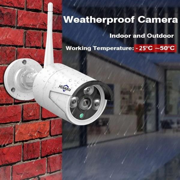 Hiseeu 8CH Wireless CCTV Security System 3