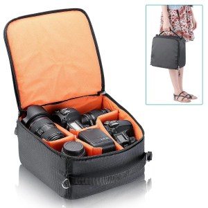 Flexible Partition Camera Padded Bag