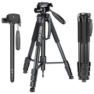 Portable 70 inches/177 cm Aluminum Alloy Camera Tripod