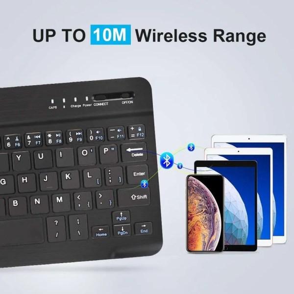 Mini Wireless Bluetooth Rechargeable Keyboard 4