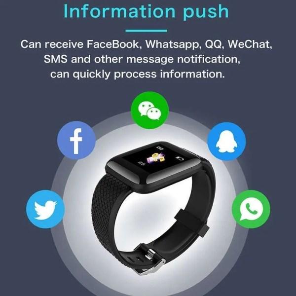 Men and Women Smartwatch Fitness Tracker Bracelet 3