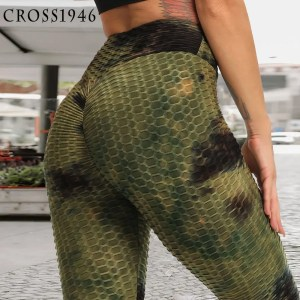 New Print High Waist Women Sexy Yoga Gym Pants