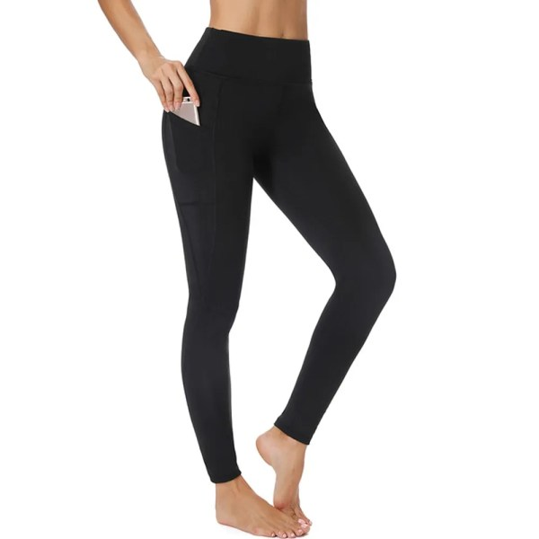 3/4 Yoga Pants women Calf-length Pants Capri Pant Sport leggings Women Fitness Yoga Gym High Waist Leggins Black Drop Shipping
