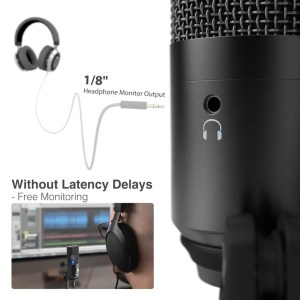 FIFINE Uni-Directional USB Microphone