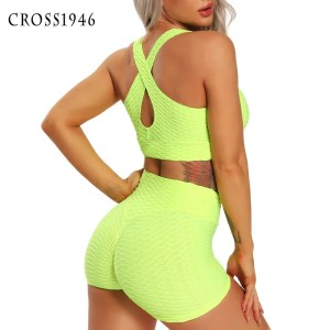 Women Sports Suit Tank Top Breathable Summer Shorts