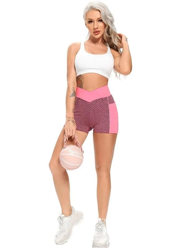 Women Mesh Push Up Gym Shorts 8