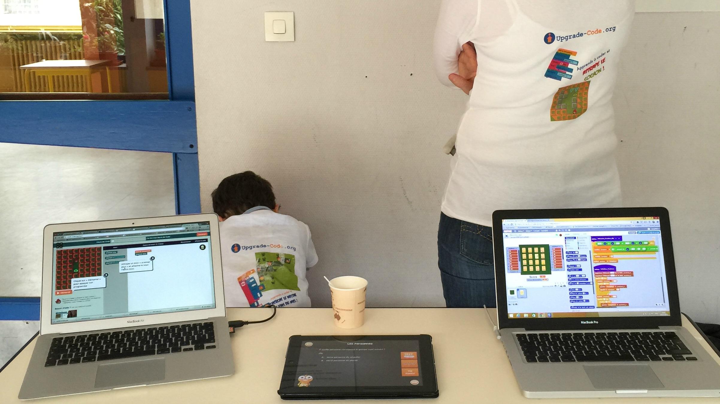 Les ateliers du code informatique