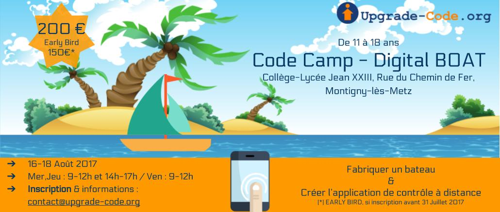 Summer Camp #2 : du 16 au 18 Août