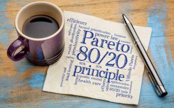 Optimer dit liv og boost din produktivitet - lev efter Paretos 80/20-princip