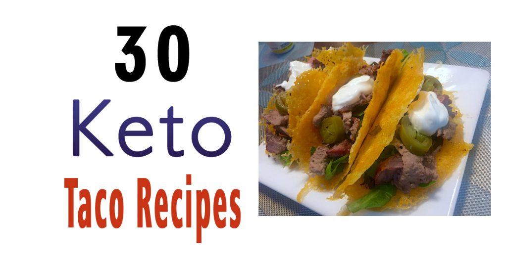 30 Keto Taco Recipes