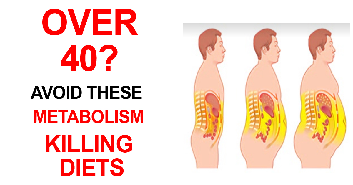 Over 40? Avoid These Metabolism Killing Diets
