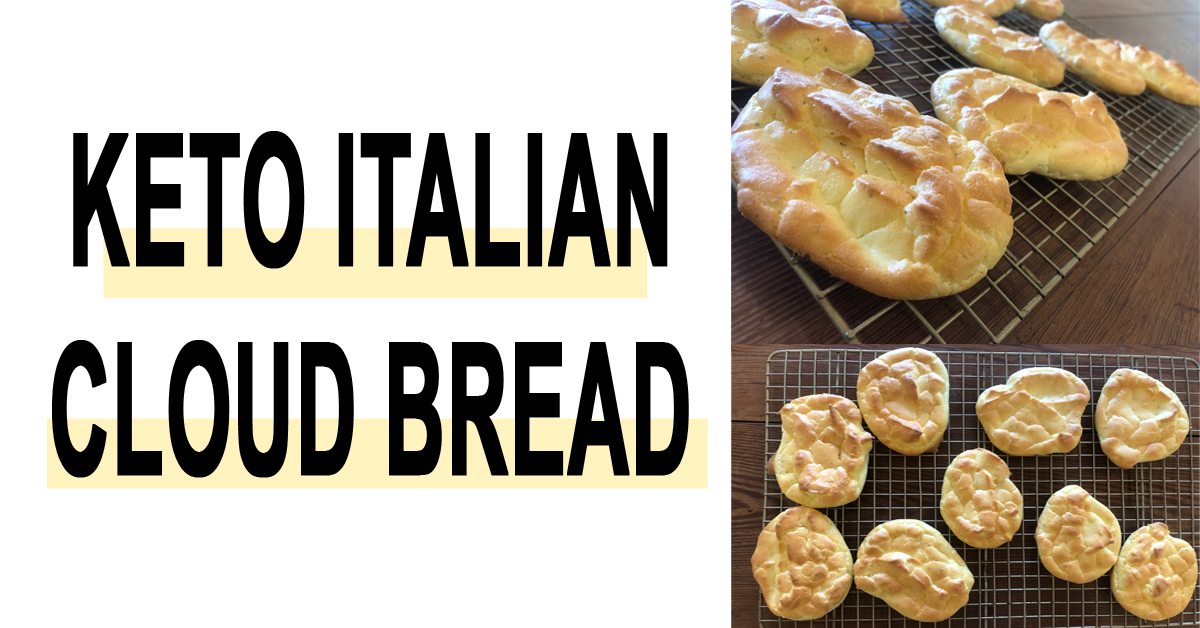 Keto Italian Cloud Bread