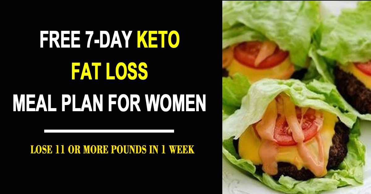 Lose Weight Fast With This 7-Day Keto Menu