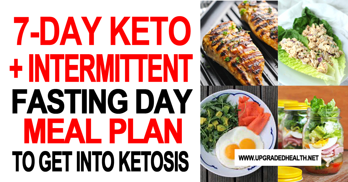 7 Day Keto + Intermittent Fasting Meal Plan
