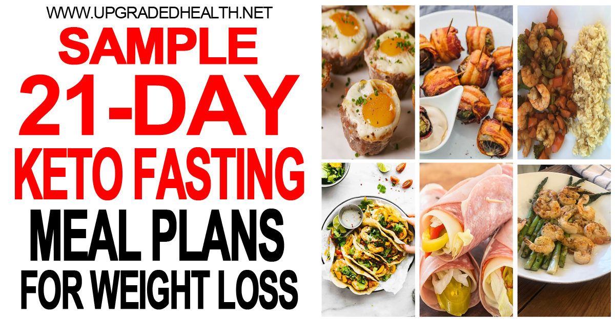 21-Day Keto + Intermittent Fasting Meal Plan