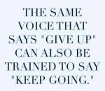 Keep Going…..