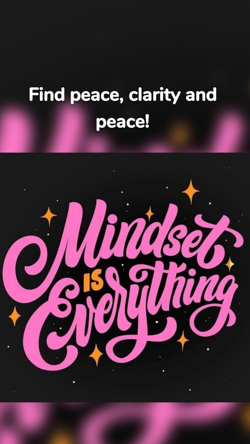 Find peace, clarity and peace!