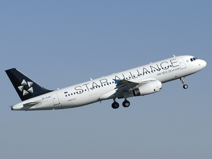 Star Alliance Air New Zealand