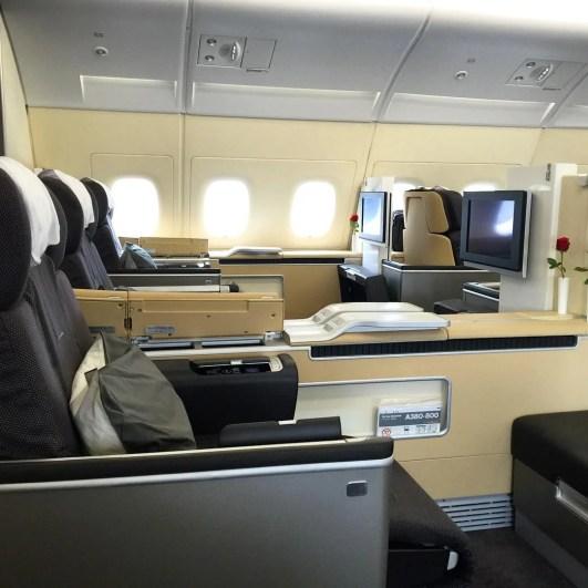 Lufthansa first class flight