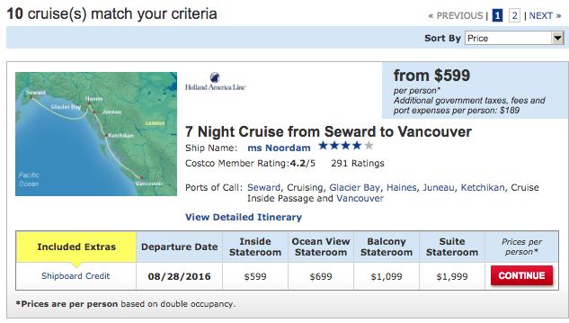 Cruise-package-criteria-costco-travel