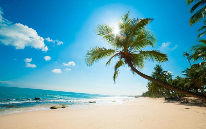 use flying blue miles to travel to the Caribbean Beach